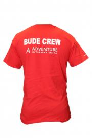 Adventure International Red Bude Crew T-Shirt